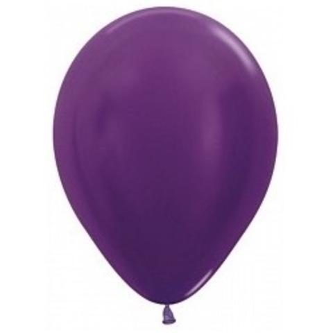 Шар Фиолетовый Металлик, 30 см