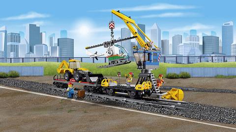 LEGO City: Мощный грузовой поезд 60098 — Heavy-haul Train — Лего Сити Город