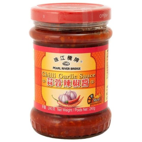 Соус Pearl River Bridge Chili garlic, 240 г