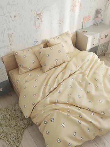 Пододеяльник  -Котики (компаньон)- 1,5-спальный на молнии 145х215 см