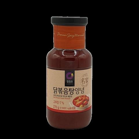 Корейский маринад для курицы острый Spicy Braised Chicken Marinade DAESANG, 270 гр