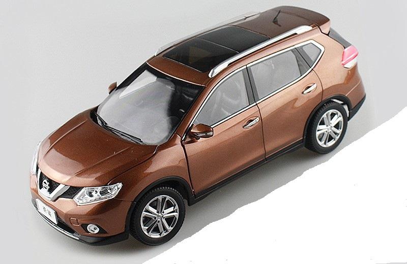 Коллекционная модель Nissan X-Trail 2014