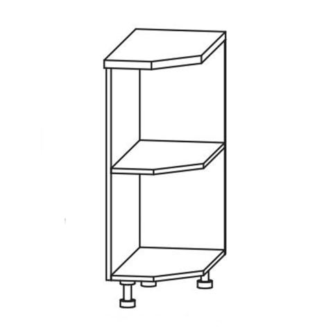 Кухня Вита шкаф нижний полка угловая 850*300