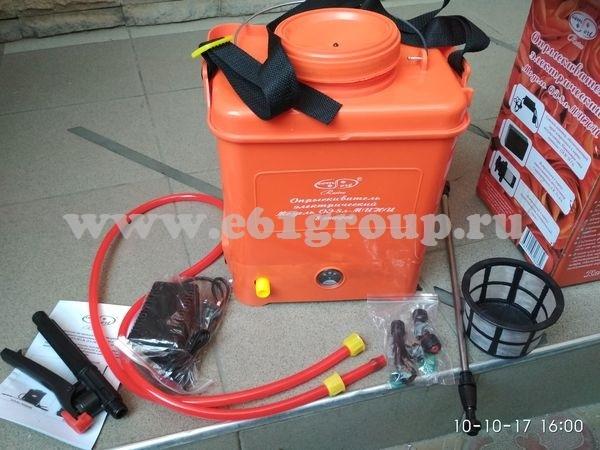 Опрыскиватель электрический ранцевый Комфорт (Умница) ОЭ-8л-МИНИ с регулятором мощности купить