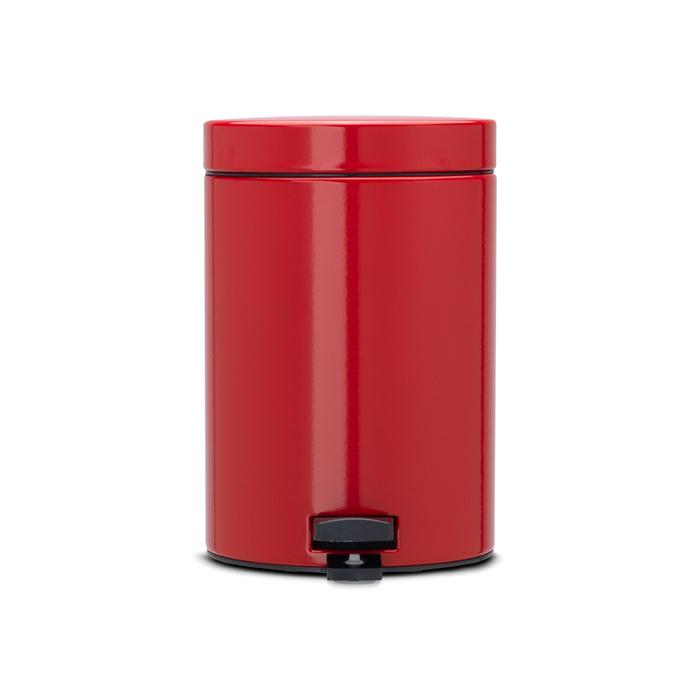 Мусорный бак Brabantia  (3л), Классический, Пламенно-красный, арт. 105944 - фото 1