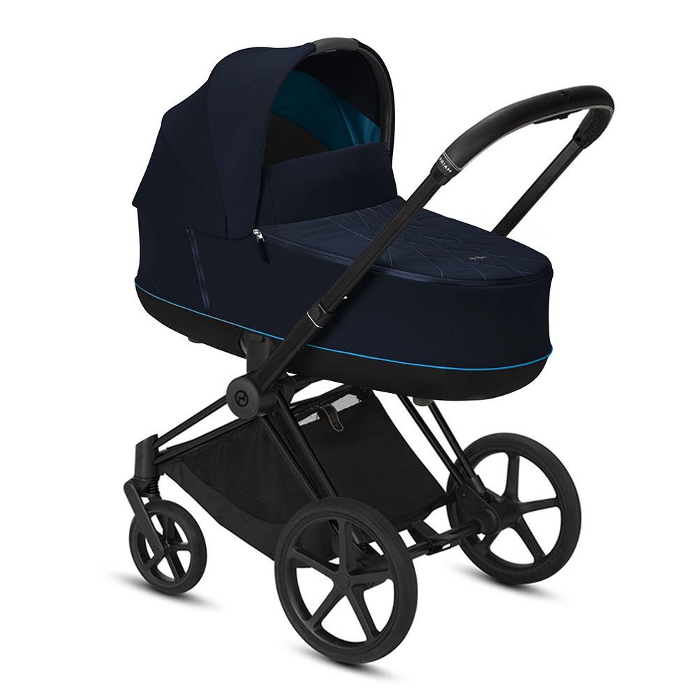 Цвета Cybex Priam для новорожденных Коляска для новорожденных Cybex Priam III Nautical Blue Matt Black cybex-priam-iii-nautical-blue-matt-black.jpg