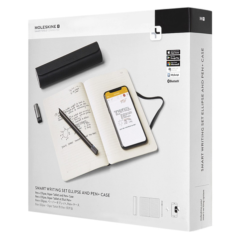 Набор Moleskine Smart Writing SWSB блокнот P Tablet / Volant XS и S Pen c футляром