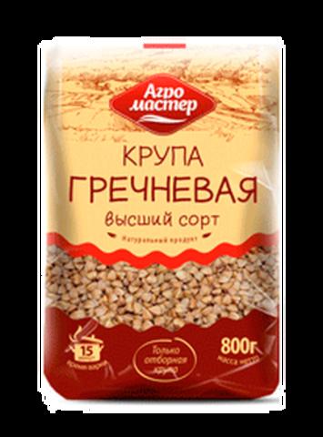 """Крупа """"Агромастер"""" гречневая 800г"""