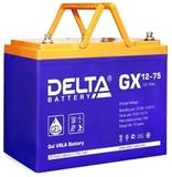 Аккумулятор DELTA GX 12-75 ( 12V 75Ah / 12В 75Ач ) - фотография