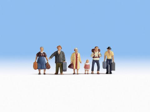 Путешественники 6 человек + багаж