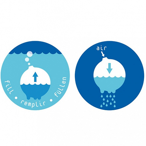 Игрушка Плюи Рэйнбол для игр с водой
