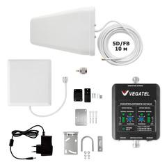 Усилитель сотовой связи VEGATEL VT-900E/1800-kit (дом, LED)