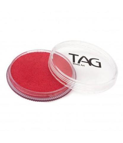 Аквагрим TAG 32гр перламутровый красный
