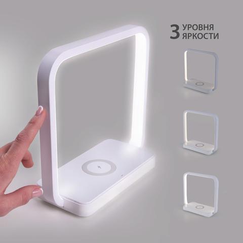 Настольный светодиодный светильник 80502/1 белый 80502/1 белый