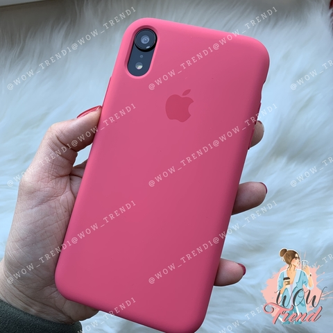 Чехол iPhone XR Silicone Case /hibiscus/