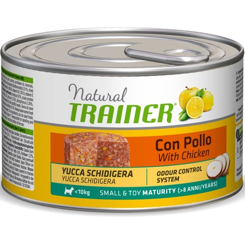 Trainer Natural Dog Small & Toy Maturity - With Chicken, 1800 г.