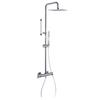 Душевая система с термостатом и тропическим душем для ванны  ALEXIA 365402RK300N - фото №1
