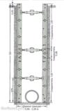 Алюминиевая крепь LITEBOX 300