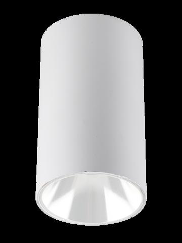 Светильник накладной PDL-R 14080 GU10 WH/WH