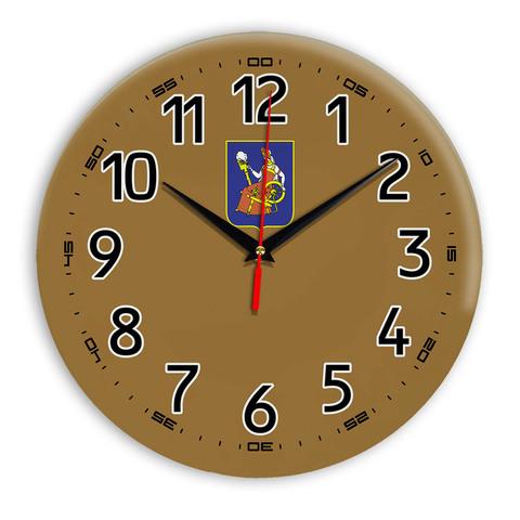 Интерьерные часы герб Иваново 11