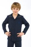 Элитная детская пижама для мальчиков GrigioPerla