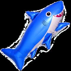 F Фигура, Счастливая акула, Синий, 39