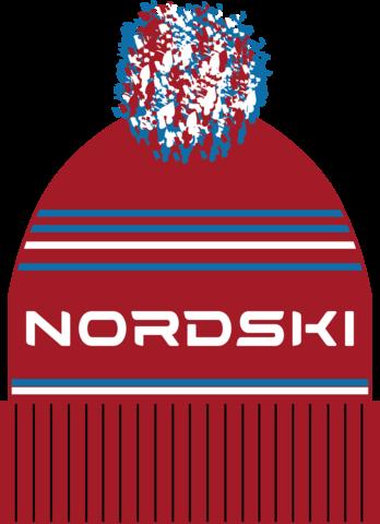 Шапка Nordski Stripe Red Rus