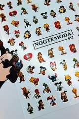 Наклейки NogteModa №052