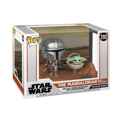Funko Pop! Vinyl Figure || The Mandalorian with The Child (Baby Yoda)