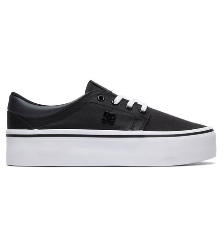 Кеды DC Shoes TRASEPLTFM TXSE J SHOE BWB BLACK/WHITE/BLACK