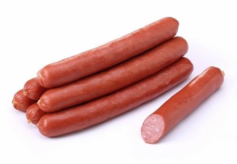 Колбаски варёнокопчёные