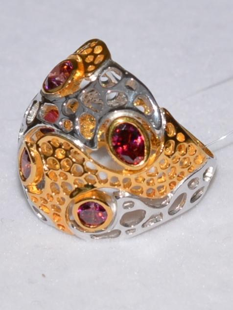 Адеми (кольцо из серебра)
