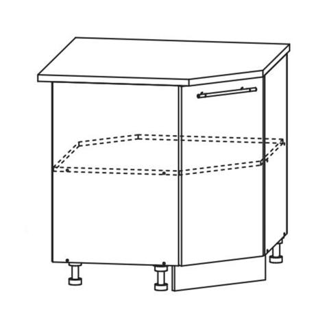 Кухня Вита шкаф нижний угловой 850*850