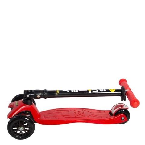 детский самокат Smiley Maxi складывающийся руль