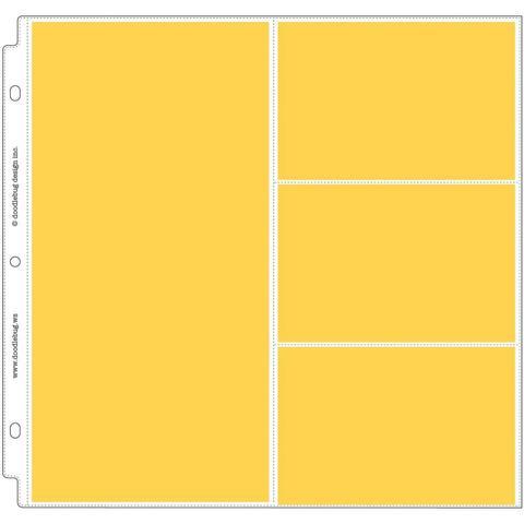 Комплект файлов 30х30см Doodlebug Page Protectors - 12 шт
