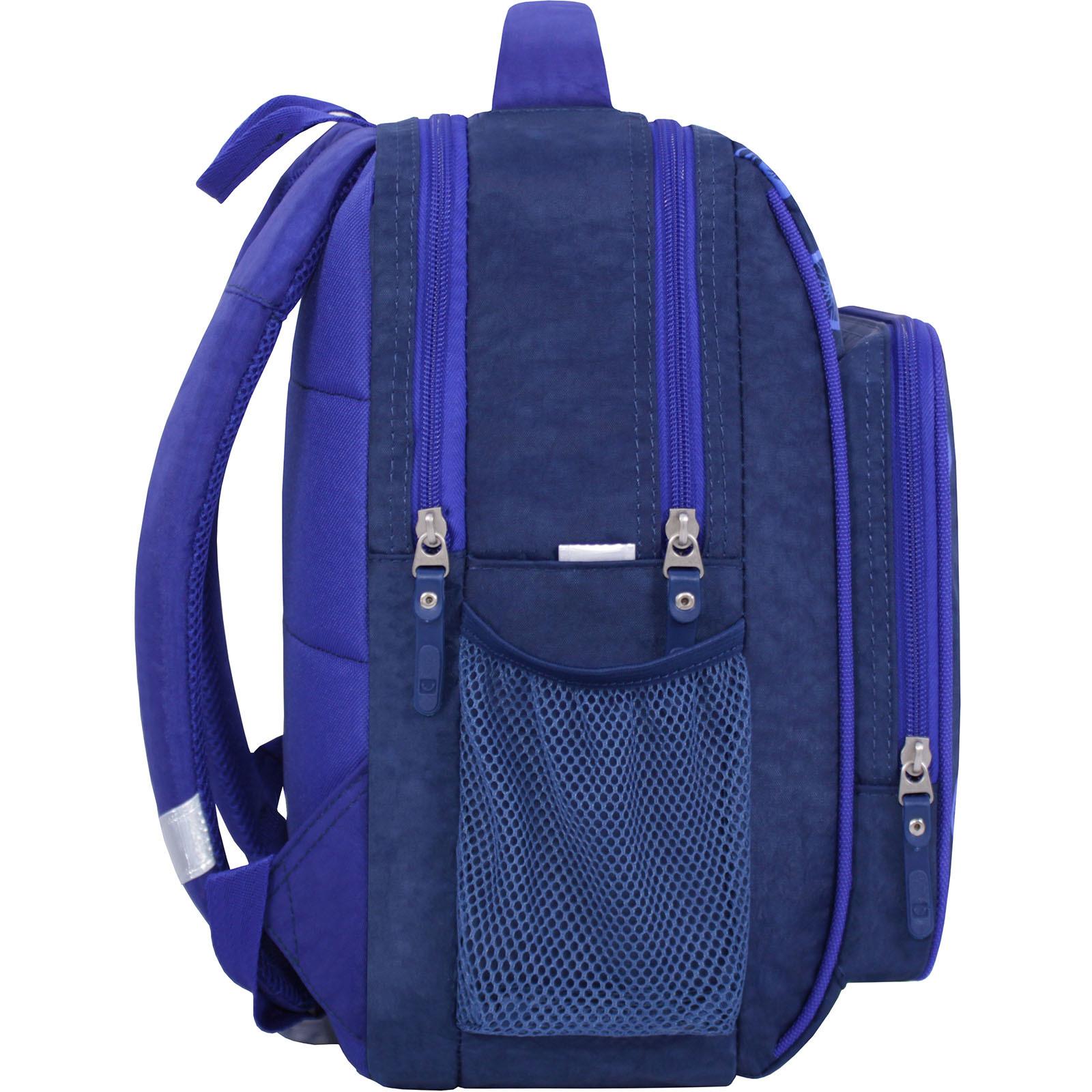 Рюкзак школьный Bagland Школьник 8 л. 225 синий 551 (00112702) фото 2