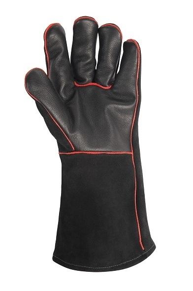 Перчатки кожаные для гриля