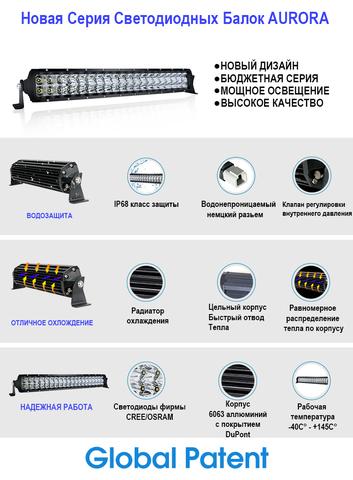 Светодиодная балка   50 комбинированного  света Аврора  ALO-D5D-50С ALO-D5D-50С  фото-4