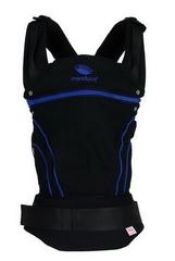 Слинг-рюкзак manduca BlackLine AbsoluteBlue (синий) NEW