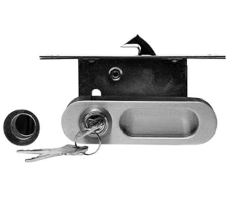 Ручка для раздвижных дверей с замком A-K01/02-V1HH