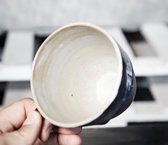 CUP102-1 Керамическая кружка ручной работы (200 мл) фото 06