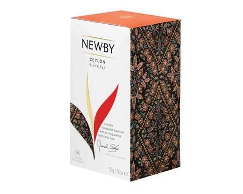 Чай черный в пакетиках Newby Ceylon, 25 пак/уп