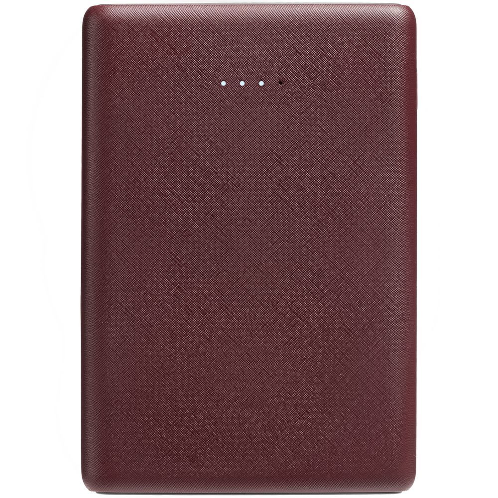 Uniscend Full Feel Color Power Bank 5000 mAh, dark red