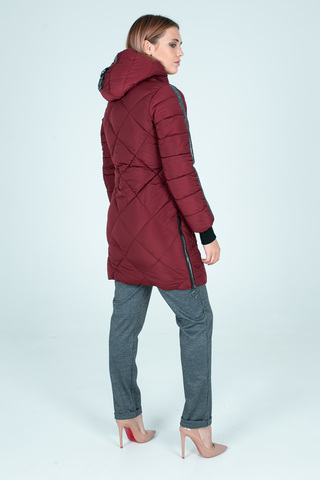 Куртка плащевка на синтепоне удлиненная интернет магазин