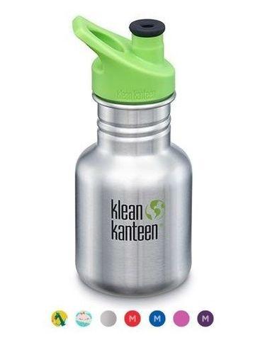 Детская бутылка Klean Kanteen Kid Classic Sport 12oz (355 мл) Brushed Stainless