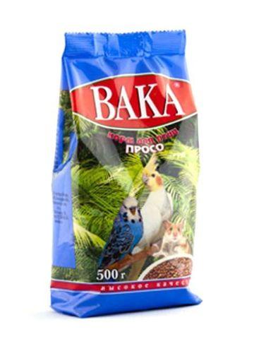 Вака ВК корм для птиц просо 500г