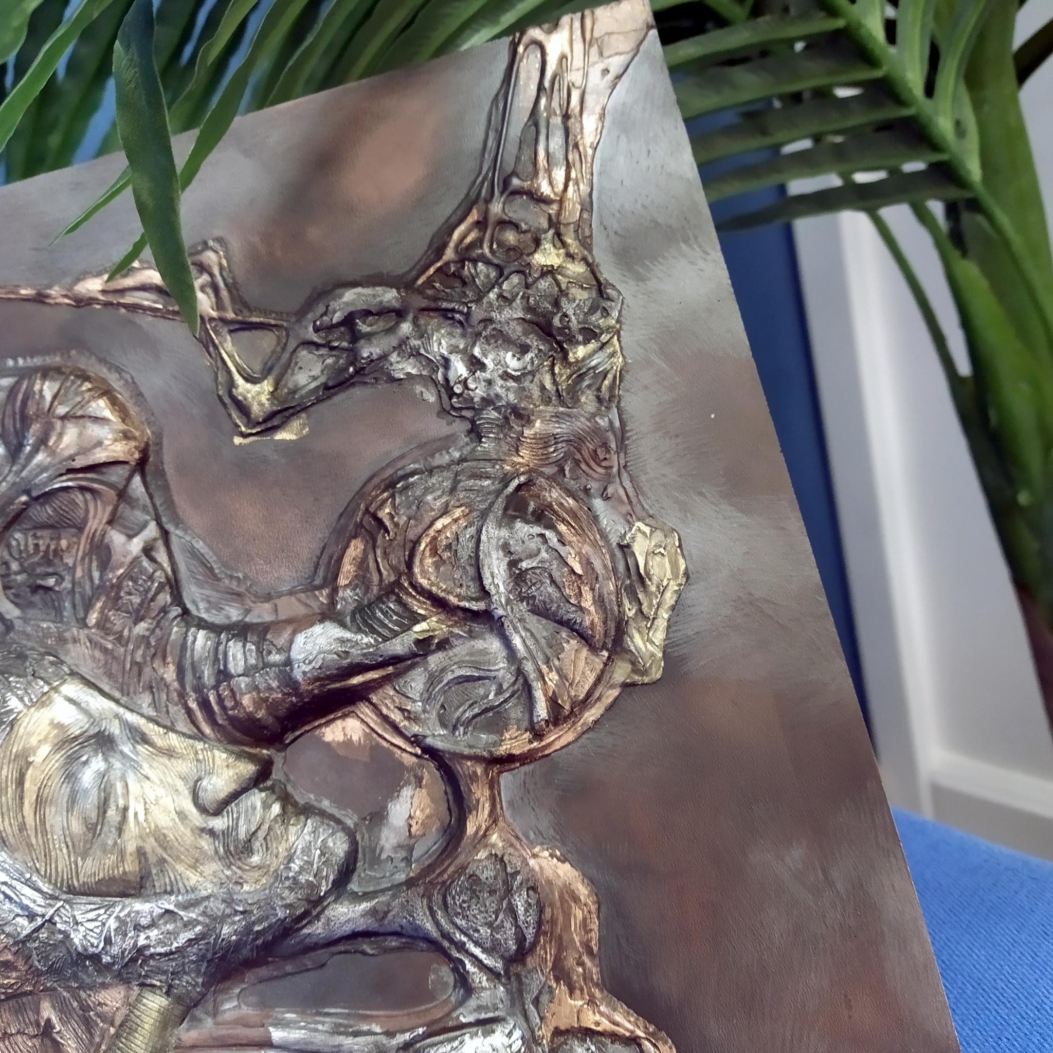 Панно из литьевого камня FateMan (350х480)
