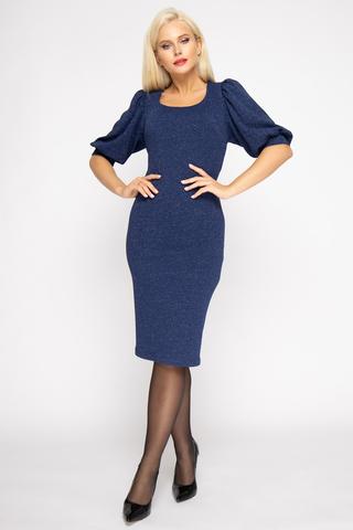 <p><span>Элегантное, изысканное, стильное платье для роскошной особы. Трикотаж с люрексом придаст изюминку вашему образу.&nbsp;</span></p>
