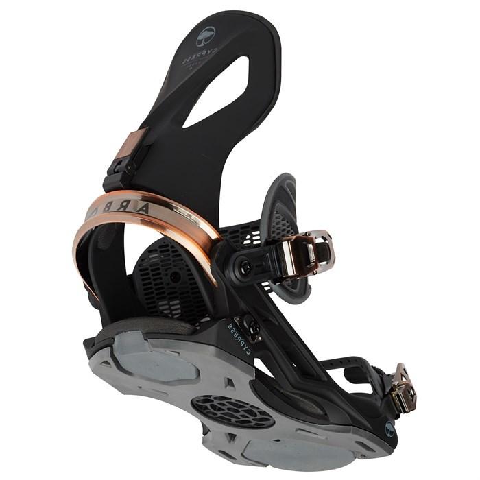 Крепления для сноуборда  ARBOR Cypress Black 20'