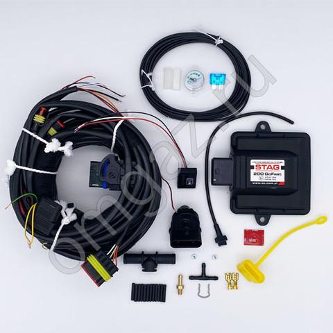 Комплект электроники ГБО Stag 200 GoFast 4 цилиндра